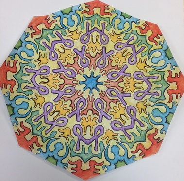 ribbon Mandala 3